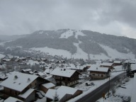 And finally the snow came...