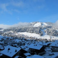 Our fabulous view of the Morzine slopes