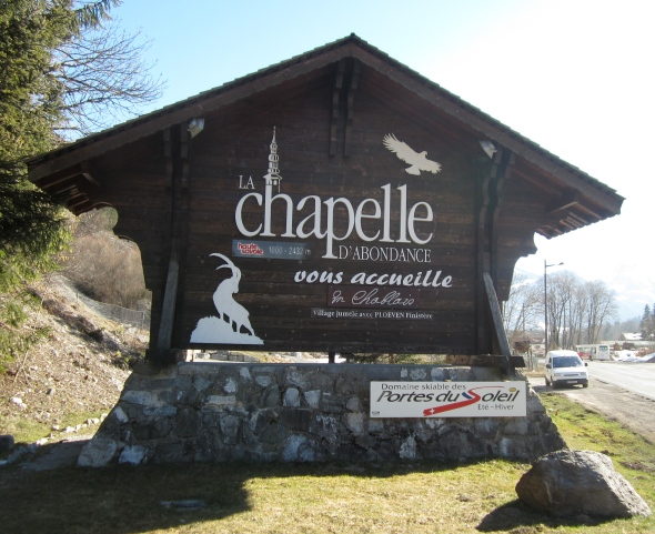 La Chapelle d'Abondance and Jumpy