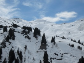 Valley de Crosets - so much off-piste waiting for us