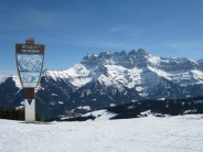 Morgins and the Dents du Midi