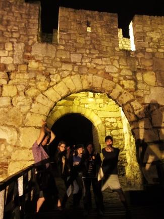 Belgrade Fort under siege from James Bond impersonators