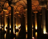 Basilica cistern under the streets of Istanbul