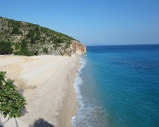 One of Albania's amazing untouched beaches. We hope it stays this way for some time to come...